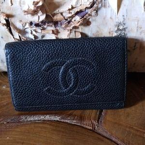 Authentic Chanel key holder